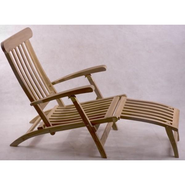 Muebles terraza jardin exterior teka mesas sillas tumbona - Tumbonas de madera ...