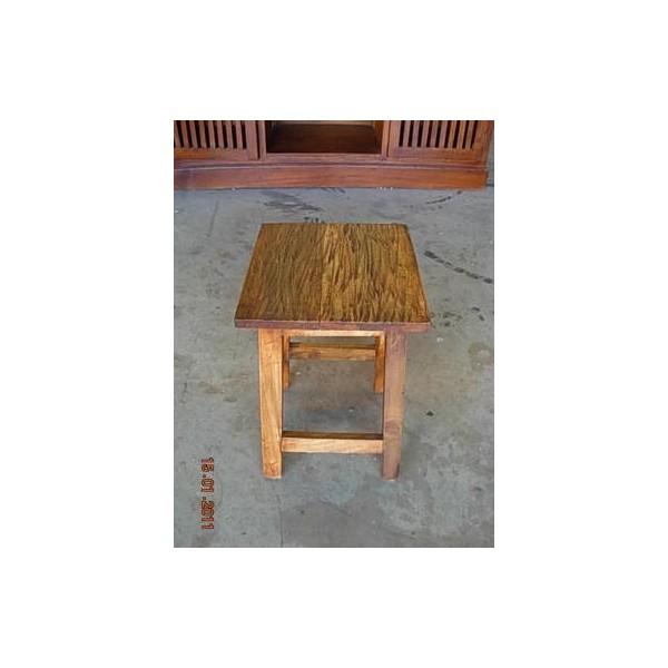 Liquidacion muebles rusticos coloniales auxiliares madera - Taburetes de madera rusticos ...