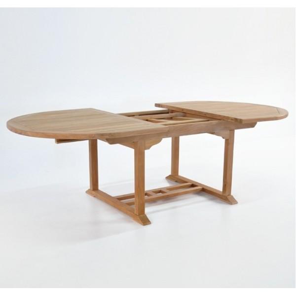 Muebles terraza jardin exterior teka mesas sillas tumbona - Mesa de teca ...