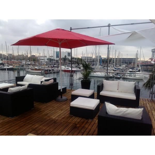 Sillones sofas mesas tumbonas hamacas de jardin rattan for Sofas de terraza y jardin