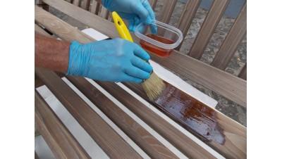 Muebles terraza jardin exterior madera teca teka mesas - Tratamiento de madera para exterior ...