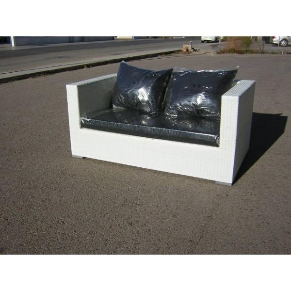Sillones sofas mesas tumbonas hamacas de jardin rattan for Muebles de rattan sintetico baratos