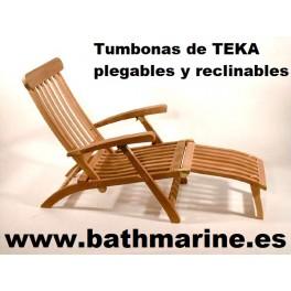TUMBONA RECLINABLE PLEGABLE DE TEKA STEAMER HAMACA