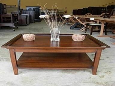 Mesas de centro madera rusticas for Mesas rusticas de madera maciza