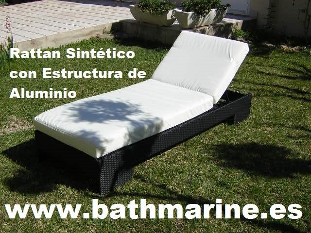 Muebles Jardin Rattan Sintetico Ratán Terraza Teca Teka